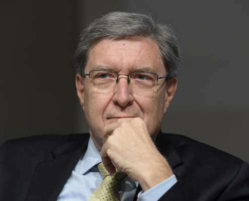 Enrico Giovannini - Economic and statistician - ASVIS - Italian Alliance for Sustainable Development